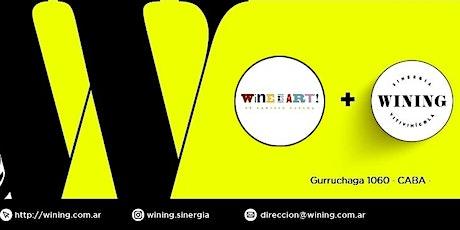 Wining Tasting #WINEISART by Ernesto Catena entradas