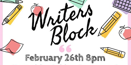 Writers' Block tickets