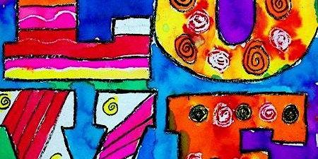 Summer Art Camp - Peace, Love and ART 7.13 - 7.17.20