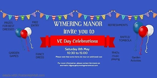 Wymering Manor's VE Day Celebrations