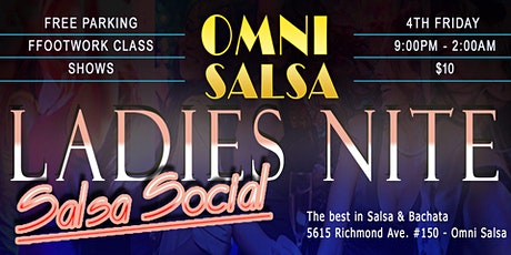 Friday Salsa & Bachata Party + Performances! tickets