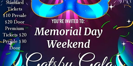 Memorial Day Weekend Gatsby Gala Fundraiser tickets