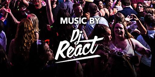 DJ React at Kiss Kiss  Free Guestlist - 2/22/2020