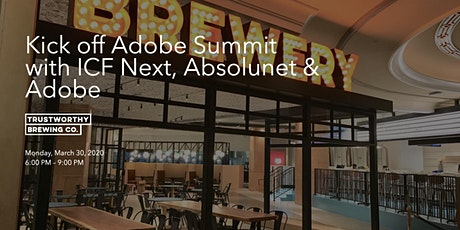 Join ICF Next & Absolutnet for Drinks @ Adobe Summit tickets