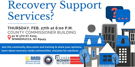 Winnemucca Community Forum: Addiction, Mental Health and Recovery tickets