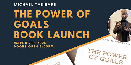 The Power of Goals - Book Launch tickets