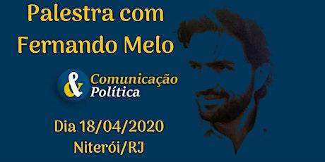 Palestra Fernando Melo: Conservadorismo no Brasil ingressos