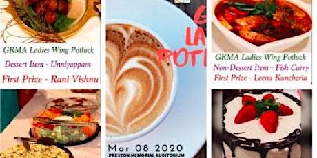 GRMA Ladies potluck - II tickets