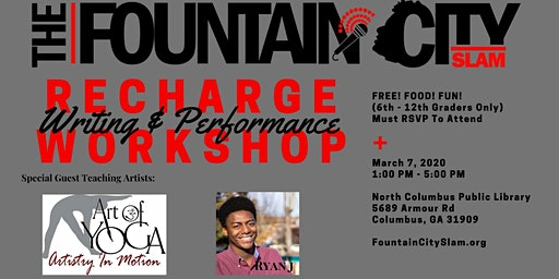 ReCharge: Youth Writing & Performance Workshop
