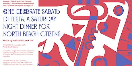 Sabato Di Festa – A Saturday Night Dinner for North Beach Citizens tickets