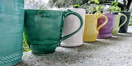 POTTERY: Create Your Own Cup - Quick Class! tickets