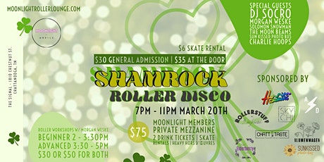 Shamrock Roller Disco tickets