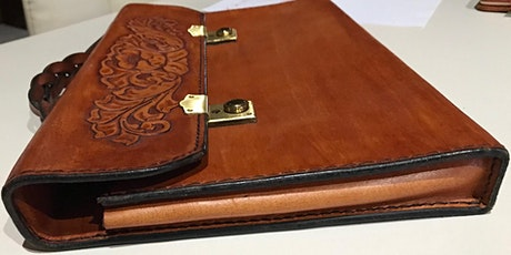 Hand Stitched Leather Satchel  Workshop, Leffler Leather with Les Williams tickets