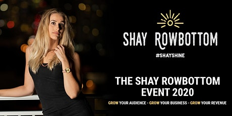 VIP Dinner with Shay! (Limited to 5 people) tickets