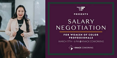 Salary Negotiation Workshops | Future for Us tickets