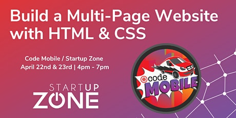 Build a Multi-Page Website with HTML & CSS Tickets