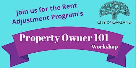 Property Owner 101 Workshop tickets