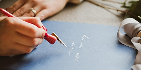 Calligraphy - hand lettering for beginners tickets