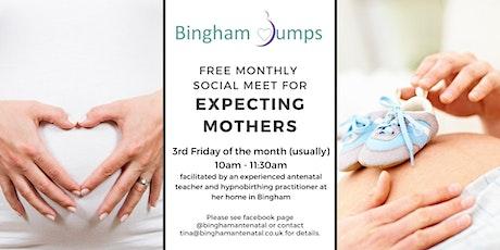Bingham Bumps - Monthly Virtual Meet-up tickets