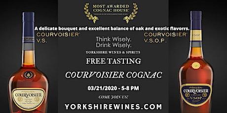 Courvoisier -Cognac Tasting tickets