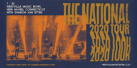 The National: 2020 Tour tickets