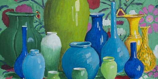 The Sensational Still Life: A Workshop with Kaffe Fassett