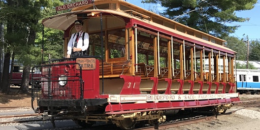 Seashore Trolley Museum General Admission: September & October 2020