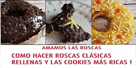 Como hacer Roscas Clásicas, Rellenas y las cookies más ricas! Con intérprete en LSA entradas