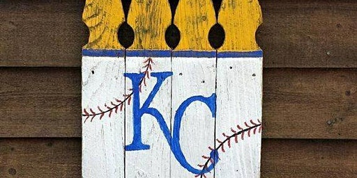 KC Royals Wood Sign Painting Class