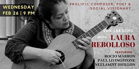 Son Jarocho | Laura Rebolloso with violin, sitar and tabla musicians tickets