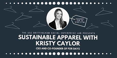 USC Brittingham Lab + Jacobson Family Sustainable Impact Lecture tickets