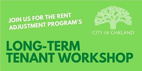 Workshop for Long-Term Tenants in Oakland tickets