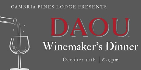 Daou Winemaker Dinner tickets
