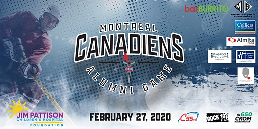 Montreal Canadiens Alumni Game-Saskatoon