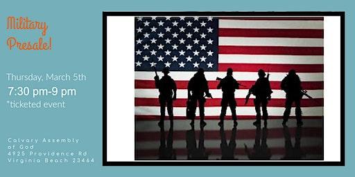 Posh Baby Military families presale