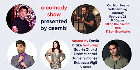 A Comedy Show presented by Asembl tickets