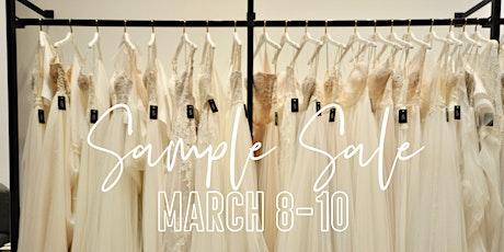 The Bridal Gallery Designer Sample Sale tickets