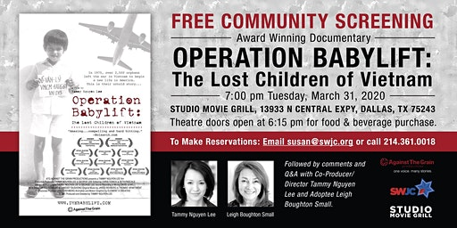 "Free Film Screening ""Operation Babylift"""