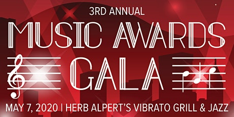 3rd Annual Music Awards Gala tickets
