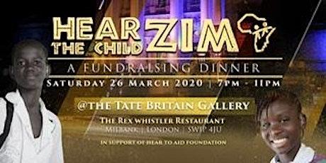 HEAR THE CHILD ZIM - FUNDRAISING DINNER tickets