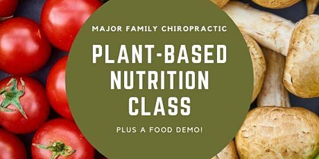 Plant- Based Nutrition Class tickets