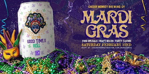Mardi Gras at Cheeky Monkey