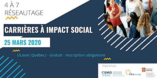 Carrières à impact social - Réseautage
