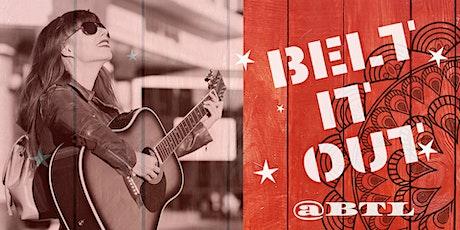 Belt It Our @BTL | Singer/Songwriter Competition tickets