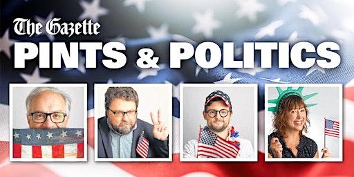 Pints & Politics - April