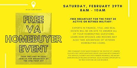 Free VA Homebuyer Event tickets