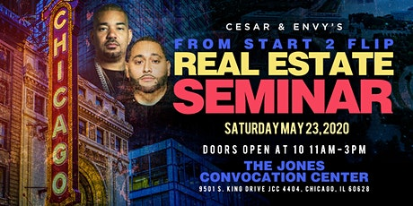 Cesar & DJ Envy's Real Estate Seminar [CHICAGO] tickets