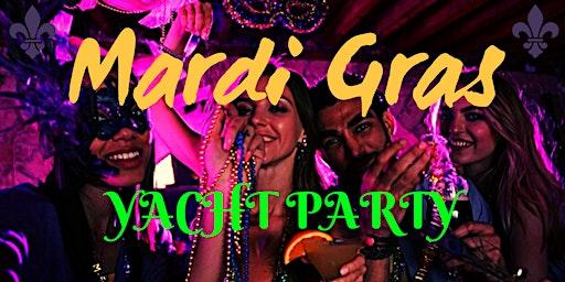 San Diego Mardi Gras 2020 Yacht Party