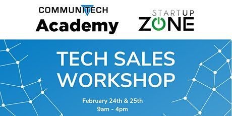 Tech Sales with Communitech Academy tickets