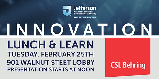 Innovation Lunch & Learn: Funding Initiatives for 2020